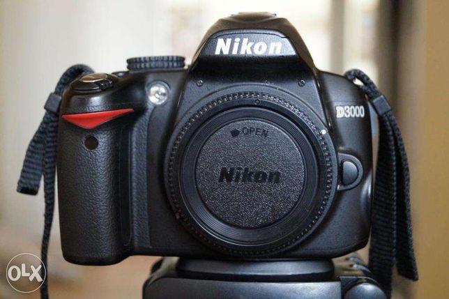 Nikon D3000 body + gratis dodatkowa bateria i ładowarka turystyczna