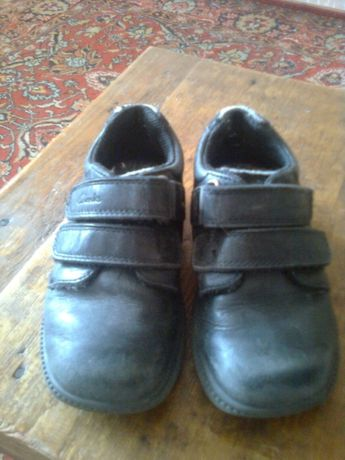 Кожаные туфли Clarks стелька 16см