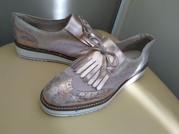 38 р. Kate Gray кожаные брендовые туфли