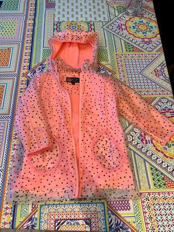 Super płaszcz dla dziewczynki jesień
