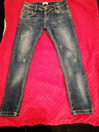 Spodnie jeansowe slim dla chłopca
