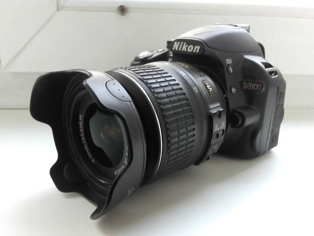 NIKON D 3100+18-55 AF-S DX VR