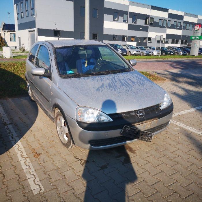 Opel Corsa C 1.4B,2001r, Z14XE,kod lakieru Z147,przebieg -na części Szubin - image 1