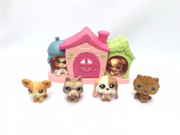 littlest pet shop zestaw dom domek buda