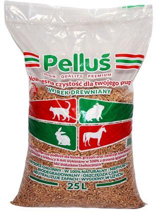 Żwirek dla kota drewniany 15kg Pellus Pure Big - PROMOCJA -20%