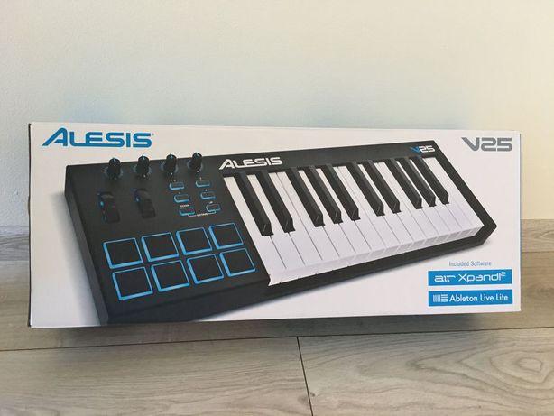 Kontroler MIDI Alesis V25 Gwarancja jeszcze 4 miesiące