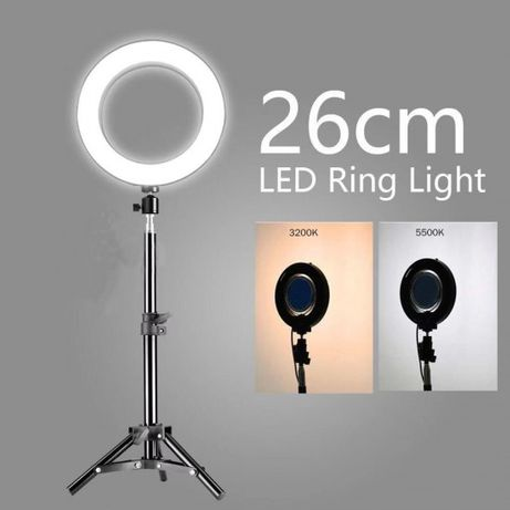 Ring Light - Anel de luz LED 26cm