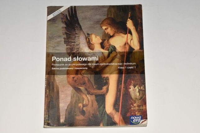 Podręcznik Ponad Słowami Klasa 1 Część 1 Język Polski Liceum Technikum