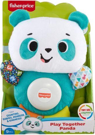 Музыкальная мягкая игрушка Фишер прайс панда Fisher Price Panda