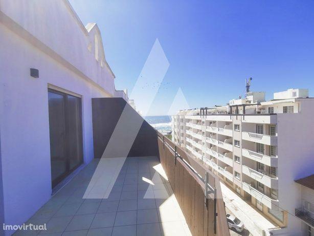 Apartamento T2 com terraço vista mar na Vagueira.
