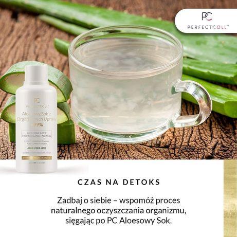Organiczny sok aloesowy 99%