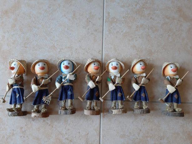Bonecos campestres de decoração - CASA