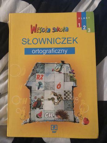 Słowniczek ortograficzny dla dzieci