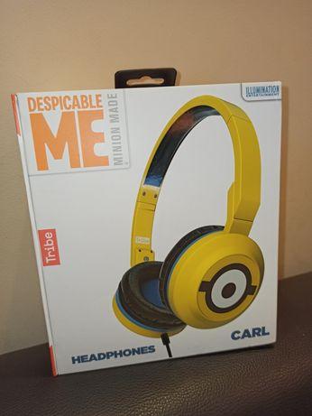 Nowe Słuchawki limitowane nauszne Minionki Tribe Carl Despicable Me