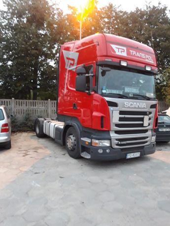Nowa cena Scania 440km pierwsza rejestracja 23.02.2012r