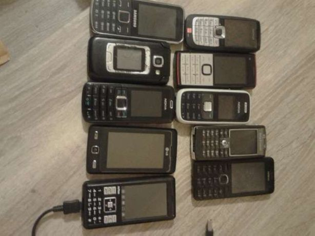 Telefony 10 szt Tylko całość