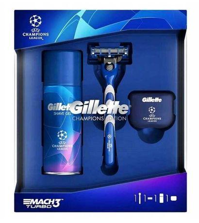 Gillette mach 3 turbo zestaw