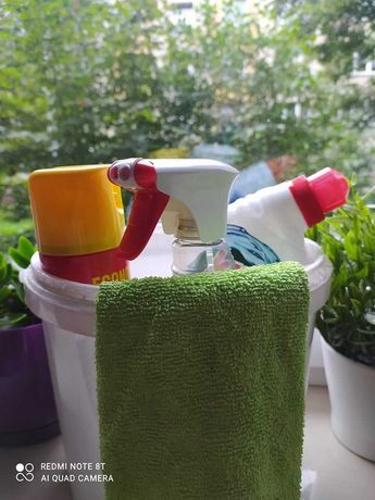 Sprzątanie mieszkań, domów, biur; mycie okien
