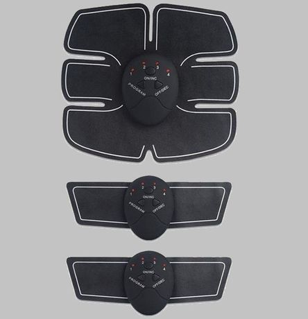 13166 Elektrosymulator Stymulator MIĘŚNI BRZUCHA EMS ZESTAW