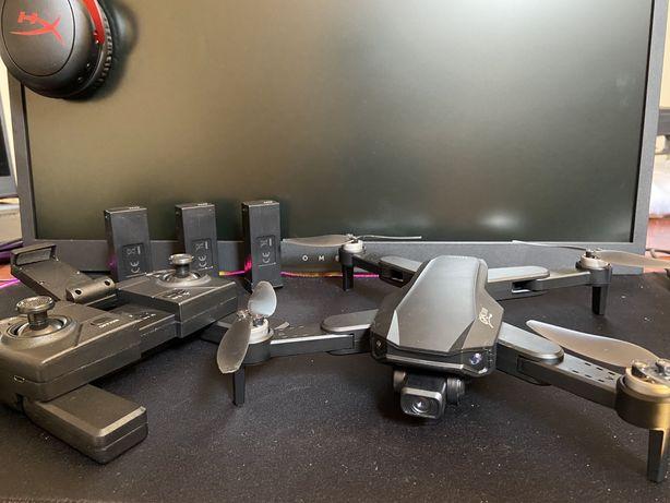 Drone dobrável 3 baterias