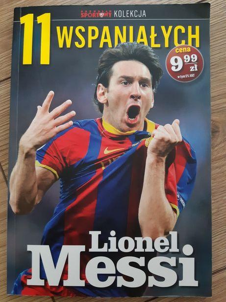 Lionel Messi - książka z serii 11 wspaniałych