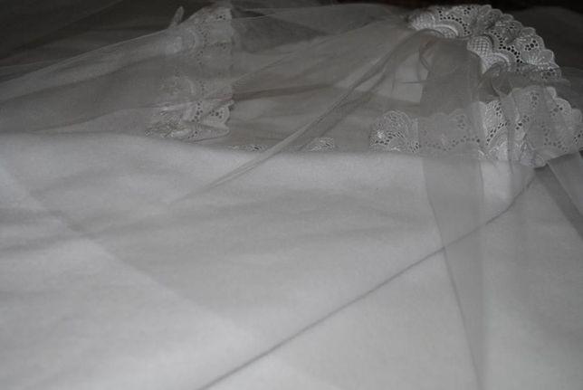 Нарядные белоснежные конверты для новорожденных на выписку 2 шт.