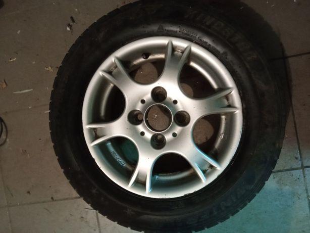 Felgi aluminiowe alufelgi koła 13 4x100 VW SEAT SKODA - komplet
