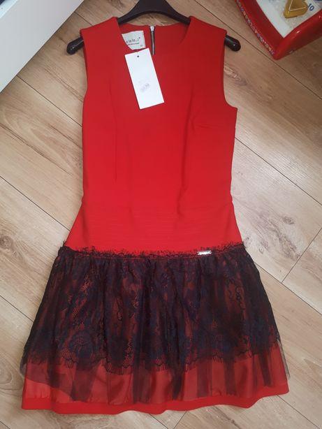 By o la la xs s nowa sukienka koronka