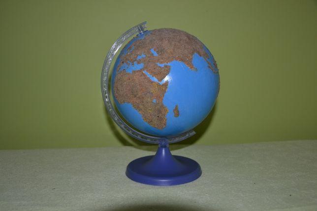 Globus dotykowy wody lądy Montessori