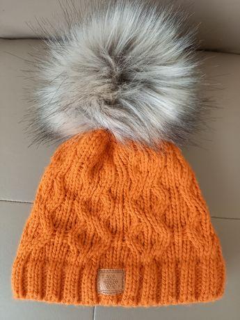 Zimowe czapki chłopięce.