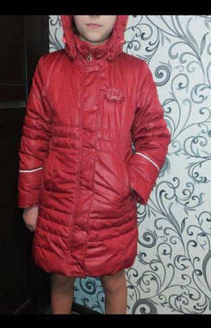 Фирменное зимнее пальто Kiko