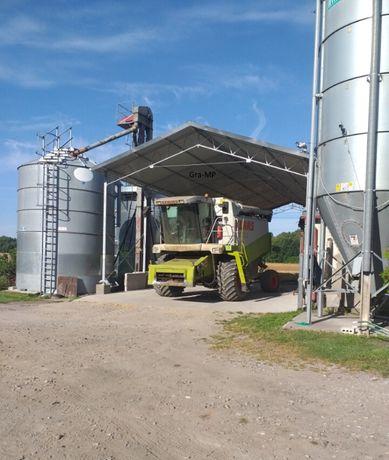 Konstrukcja 8x13 stalowo ocynkowana wiata rolnicza magazyn hala garaż