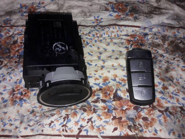 Kpl Stacyjka kluczyk karta VW PASSAT B6 2.0 TDI 140KM BKP