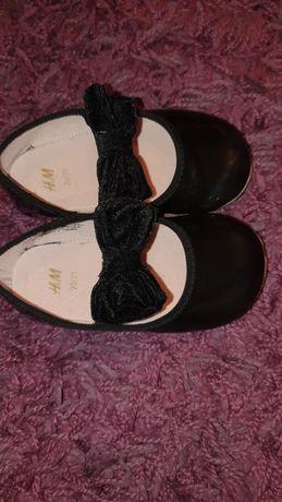Buty baletki H&M czarne r.20/21