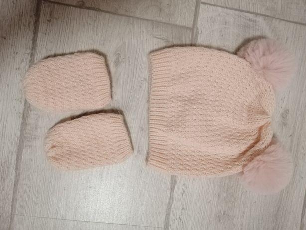 Набір шапочка і рукавиці