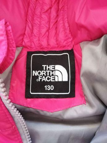 Kurtka r. 130 The North Face różowa lekka puchowa Wiosna!