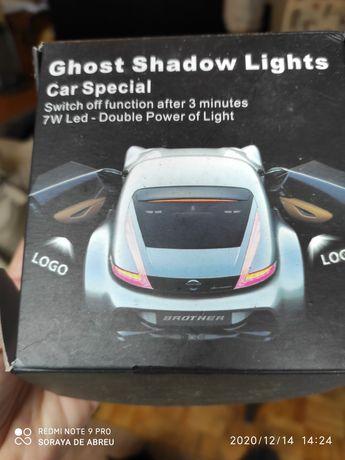 Luz de porta com logo da Citroen
