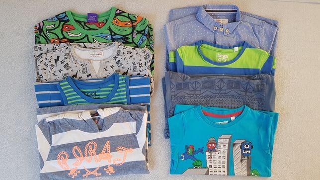 Zestaw koszulek 104 t-shirt bluzka Next koszula C&A i inne