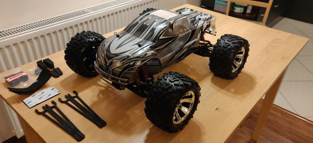 NOWY - Model RC Traxxas E-MAXX Brushless TUNING - NOWY