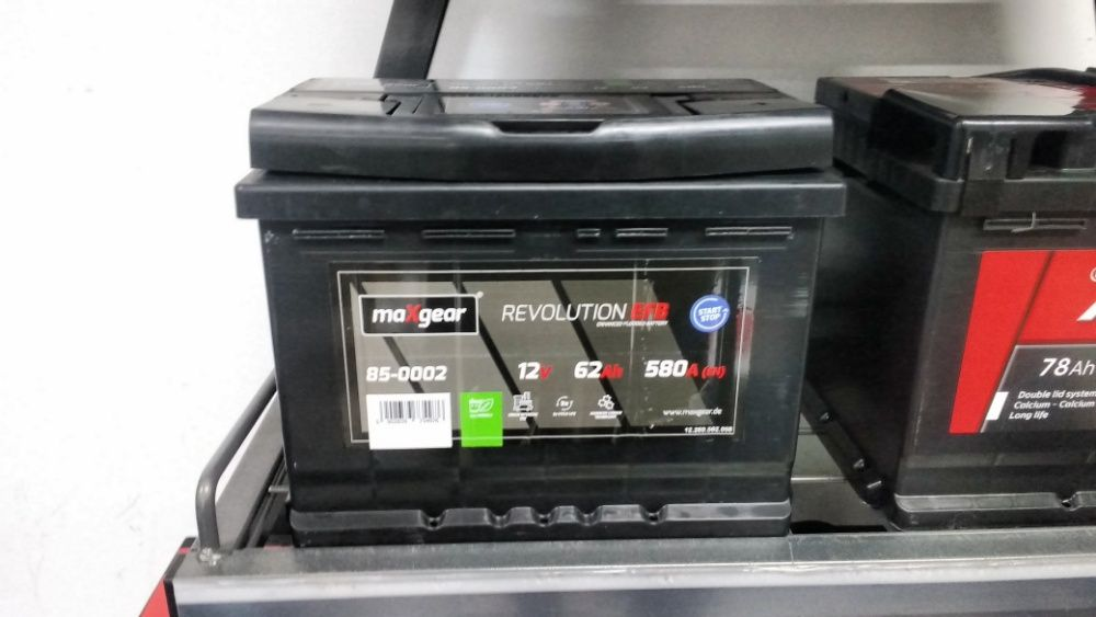 Akumulator maXgear Start Stop EFB 62Ah 580A Skoda Audi Vw Kraków Azory