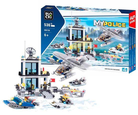 WODNY komisariat POLICJI 536 el do Lego Policja