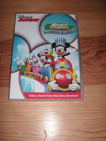 DVD A Casa do Mickey Mouse - O Comboio do Mickey
