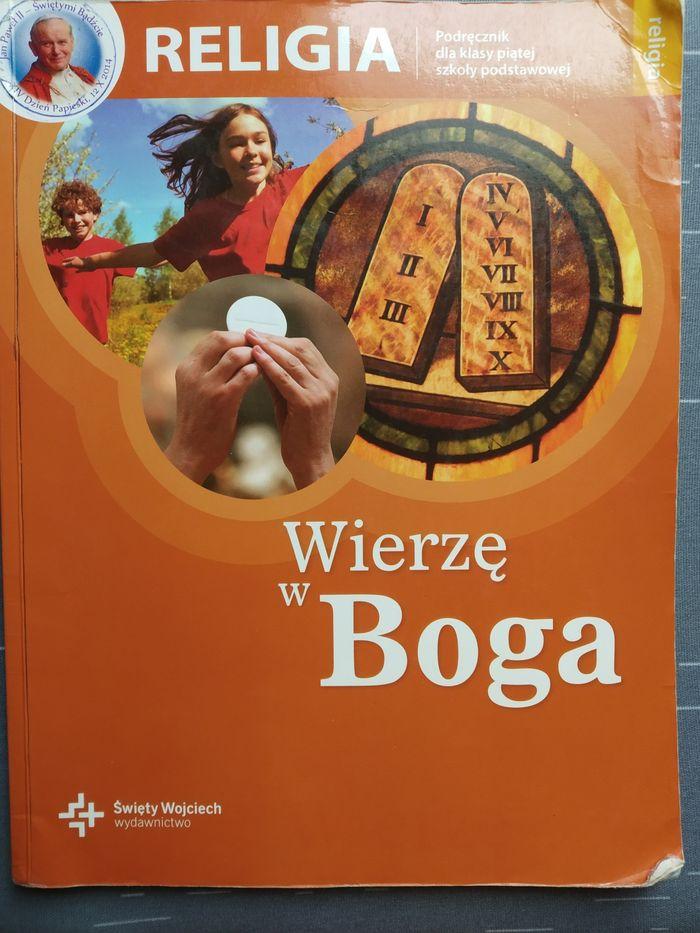Wierzę w Boga 5/ Wierzę w Kościół 6 podręcznik do religii Ostrów Pieckowski - image 1