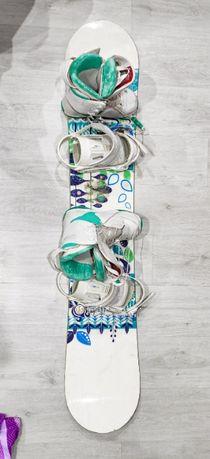 Deska Snowboardowa SALOMON LOTUS 151 cm + wiązania + GRATIS buty