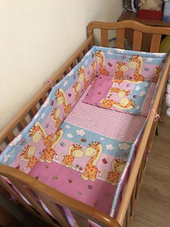 Детская постель и бортики