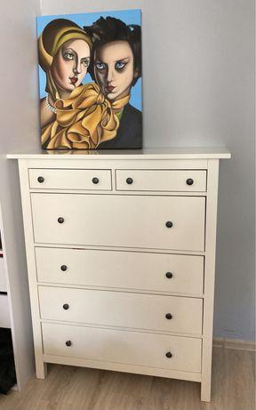 IKEA Hemnes Komoda 6 szuflad biała