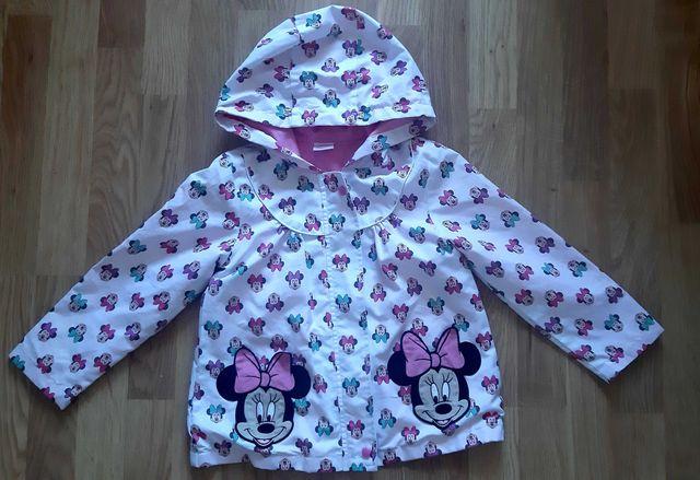Куртка, ветровка disney на 4-5 лет Минни маус