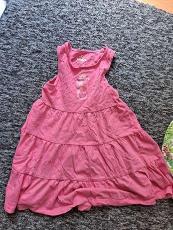 Sukienka letnia dla dziewczynki 110 116