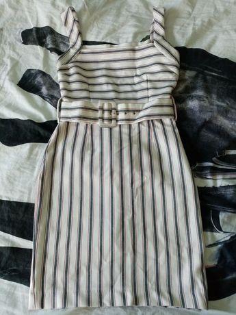 Sukienka ołówkowa: Zara. Made in Marocco