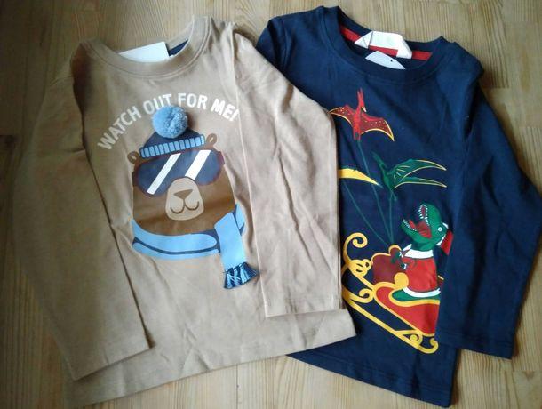 Nowe bluzeczki hm 92